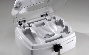 Vacuum formed medical instrument cases