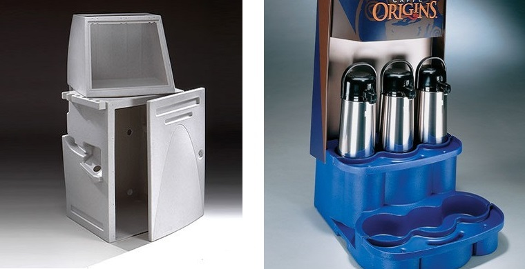 Rotational Molding - 3D Printing - Coffee Retailing